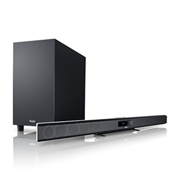 "Teufel Cinebar 11 ""2.1-Set"" (2016) Weiß Heimkino soundbar bluetooth wireless subwoofer -"