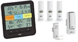 TFA-Dostmann KlimaHome Plus Funk-Thermo/Hygro-Station incl. WeatherHub SmartHome System -