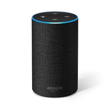Das neue Amazon Echo (2. Generation), Anthrazit Stoff -