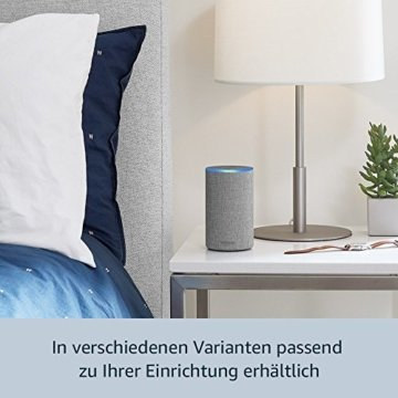 Das neue Amazon Echo (2. Generation), Sandstein Stoff -