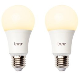 Innr E27 Duo pack mit 2 smart, warm weiß, dimmbare, retrofit LED Lampen (Alexa, Lightify & Hue* kompatibel) RB 165 -