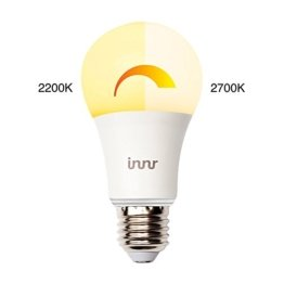 Innr E27 intelligente, warm dimmbare, 2200K - 2700K, Retrofit LED Lampe (Alexa, Lightify & Hue* kompatibel) RB 175 W - 1