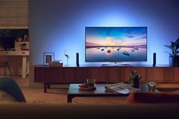 Philips Hue White and Color Ambiance Play Lightbar Doppelpack, dimmbar, bis zu 16 Millionen Farben, steuerbar via App, kompatibel mit Amazon Alexa, schwarz - 3