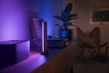 Philips Hue White and Color Ambiance Play Lightbar Doppelpack, dimmbar, bis zu 16 Millionen Farben, steuerbar via App, kompatibel mit Amazon Alexa, schwarz - 7