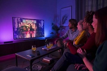 Philips Hue White and Color Ambiance Play Lightbar Doppelpack, dimmbar, bis zu 16 Millionen Farben, steuerbar via App, kompatibel mit Amazon Alexa, schwarz - 8